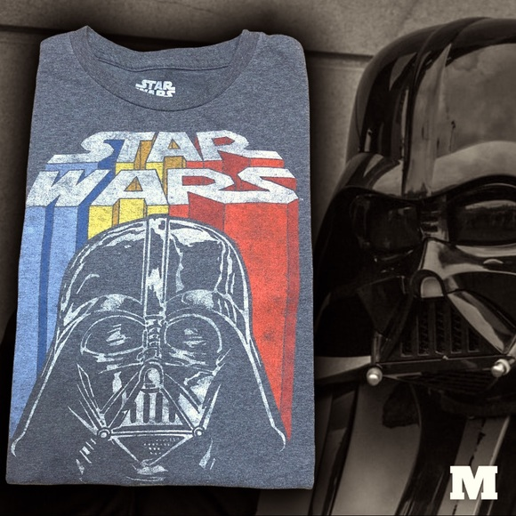 Star Wars Tee Medium gray